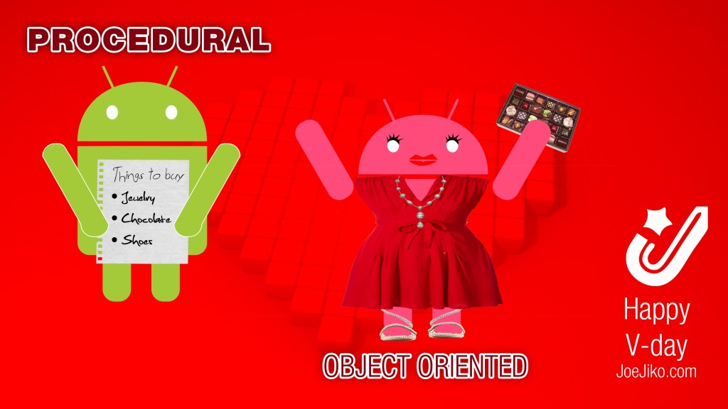 android love - procedural or object oriented?