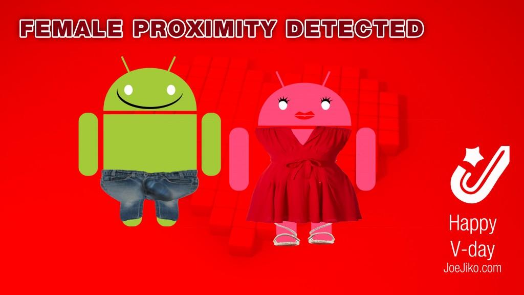 female proximity detected