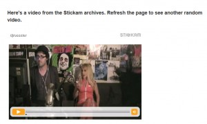 stickam video archives