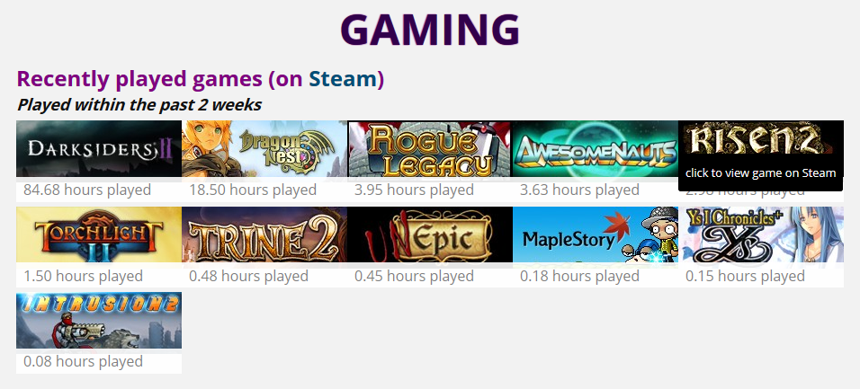 gaming-list-from-steam